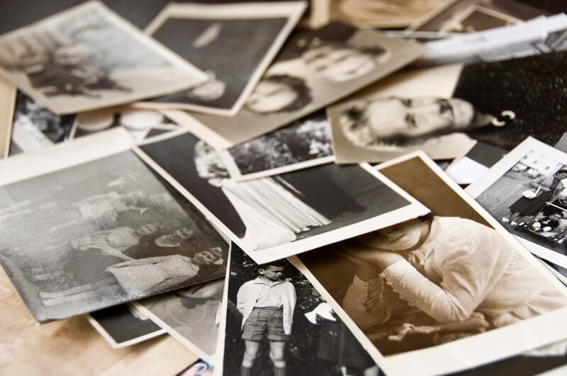 Sken starých fotiek