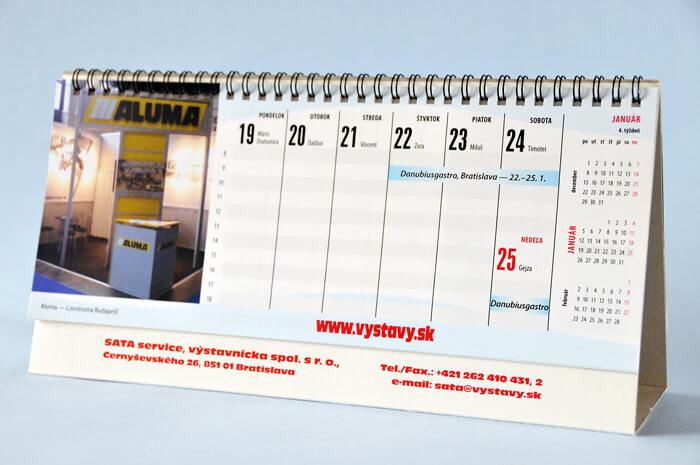 Stolový kalendár